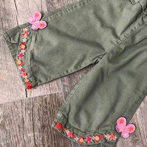 Gymboree Bottoms - Gymboree Tea Garden Pants 3T